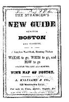 THE STRANGER S NEW GUIDE THROUGH BOSTON AND VICINITY  PDF