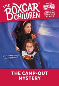 Camp Out Mystery Book