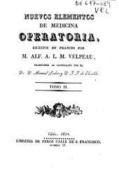 Nuevos elementos de medicina operatoria: Volumen 3