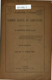 Programme of the Sauveur College of Languages