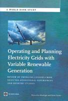 Operating and Planning Electricity Grids with Variable Renewable Generation PDF