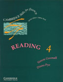 Reading 4 Student's Book