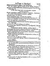 VETERUM ALIQUOT SCRIPTORUM Qui in Galliae Bibliothecis, maxime Benedictinorum latuerant, SPICILEGIUM.: Tomus Decimus-tertius, Volume 13