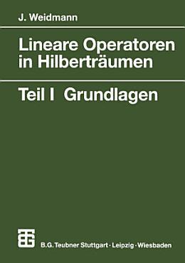 Lineare Operatoren in Hilbertr  umen PDF