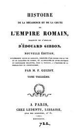 Histoire de la décadence et de la chute de l'Empire romain. Trad: Volume13