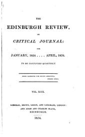 The Edinburgh Review: Or Critical Journal, Volume 99