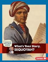 What s Your Story  Sequoyah  PDF