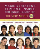 Making Content Comprehensible for English Learners   Pearson Etext Access Card Book