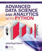 Advanced Data Science and Analytics with Python PDF