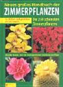 Neues gro  es Handbuch der Zimmerpflanzen PDF