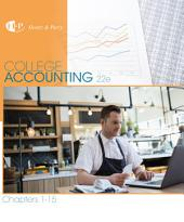 College Accounting, Chapters 1-15: Edition 22
