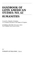 Handbook of Latin American Studies PDF