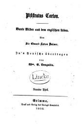 Pisistratus Caxton: Bunte Bilder aus dem englischen Leben, Band 9