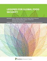 Legumes for Global Food Security PDF