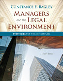 Managers and the Legal Environment  Strategies for the 21st Century
