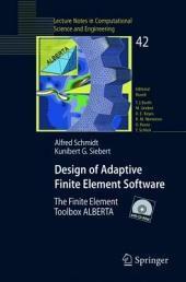 Design of Adaptive Finite Element Software: The Finite Element Toolbox ALBERTA