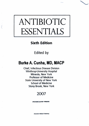 Antibiotic Essentials  2007 PDF