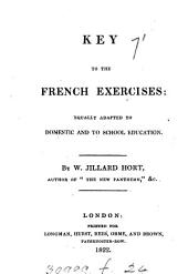 Key to the French exercises