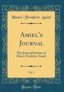 Amiel's Journal, Vol. 2