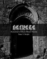 Helvete  A Journal of Black Metal Theory  Issue 1  Incipit PDF