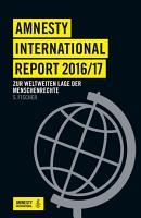 Amnesty International Report 2016 17 PDF
