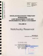 Douglas and Nolichucky Tributary Reservoirs Land Management Plan, Cocke, Greene, Hamblen, Jefferson, and Sevier Counties: Environmental Impact Statement