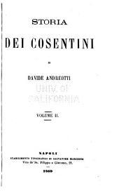Storia dei cosentini: Volume 2