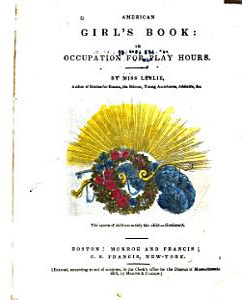 American Girl s Book Book