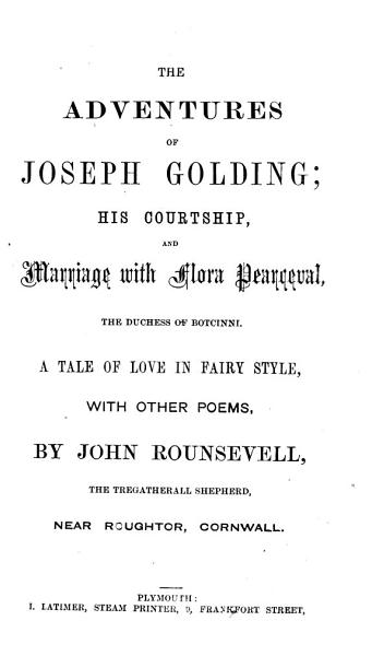 The Adventures of Joseph Golding