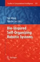 Bio Inspired Self Organizing Robotic Systems PDF