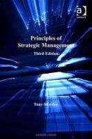 Principles of Strategic Management PDF