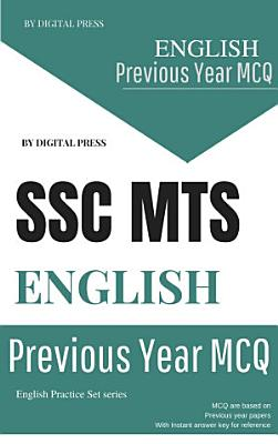 English Previous Year Questions Chapterwise SSC MTS MULTI TASKING STAFF PDF