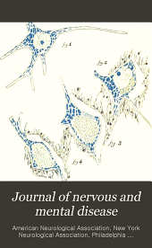 The Journal of Nervous and Mental Disease: Volume 26