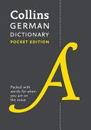 Collins German Dictionary: Pocket Edition