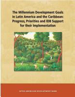 Los Objetivos de Desarrollo Del Milenio en Am  rica Latina y el Caribe PDF