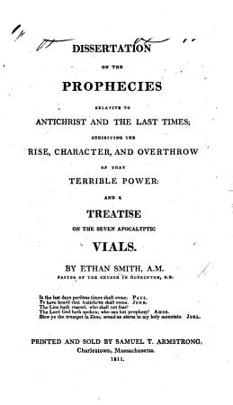 A Dissertation on the Prophecies Relative to Antichrist and the Last Times PDF