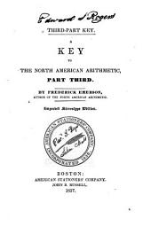 Key to the North American Arithmetic: Part third