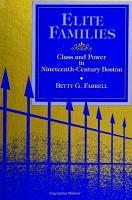Elite Families PDF