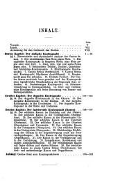 Lehrbuch des einfachen, doppelten und imitierenden Kontrapunkts