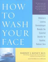 How to Wash Your Face PDF
