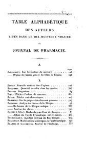 Journal de pharmacie et des sciences accessoires: Volume18