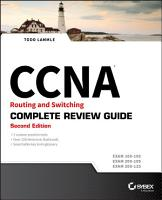 CCNA Routing and Switching Complete Review Guide PDF