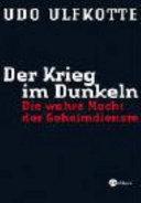 Der Krieg im Dunkeln PDF