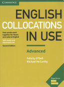 English Collocations in Use Advanced Book with Answers PDF