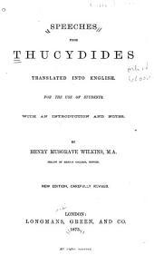 Speeches from Thucydides