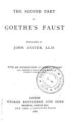 The Second Part of Goethe's Faust