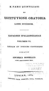 Lexicon Quintilianeum