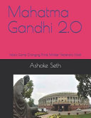 Mahatma Gandhi 2. 0