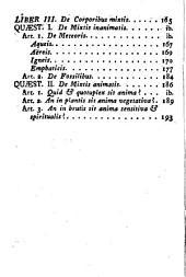 Physicae generalis institutiones: ad usum Seminarii Episcopalis Barcinonensis editae