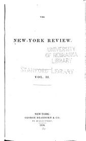 The New York Review: Volume 2